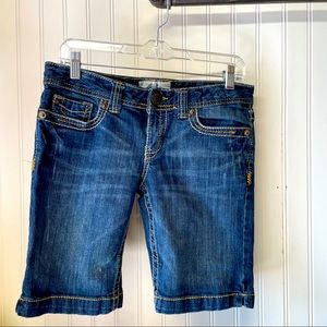 Aeropostale Bermuda Denim Shorts 5/6